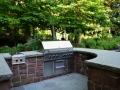 Backyard Kitchen Installation