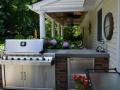 Poolside Outdoor Kitchen Designs