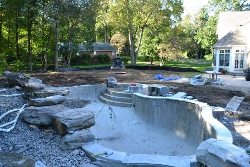 Pool construction company home design for Pool building companies