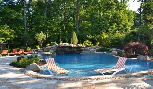 Nj pool landscape design for Pool design hamilton nj