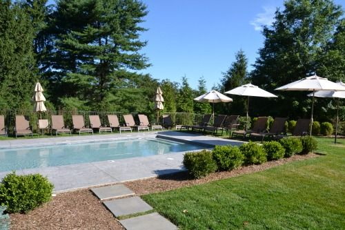 pool landscape design - Inground Pool Patio Designs