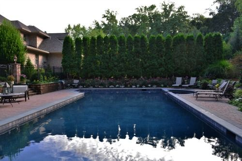 Nj pool landscape design - Residential swimming pool designs ...