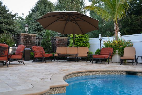 LUXURY SWIMMING POOL INSTALLATION, EAST HANOVER, NEW JERSEY