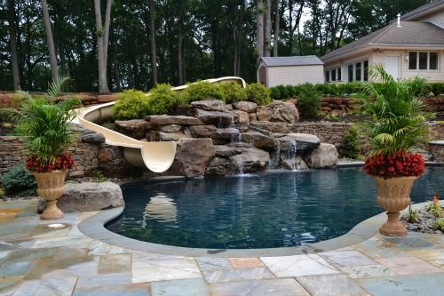 natural pool and water feature designs millstone new jersey