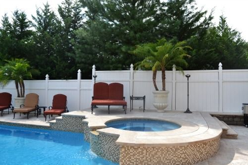 waterfall spa feature nj - Swimming Pool And Spa Design