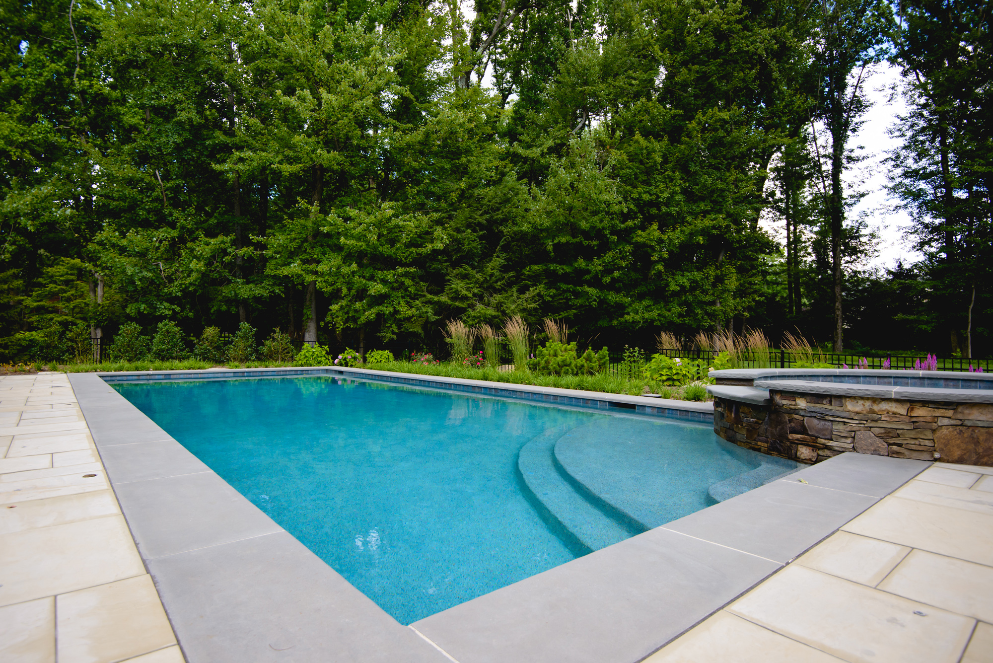 The Landscape And Placement Around The Swimming Pool And Spa Provide An  Intimate And Private Setting, A True Escape Within The Backyard.