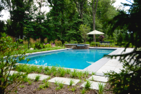 Geometric Swimming Pool NJ