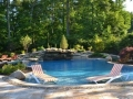 Built in Pool Sun Deck NJ
