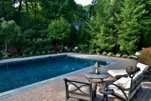 Custom Patio Design NJ · Luxury Pool Installation. Luxury Pool Installation