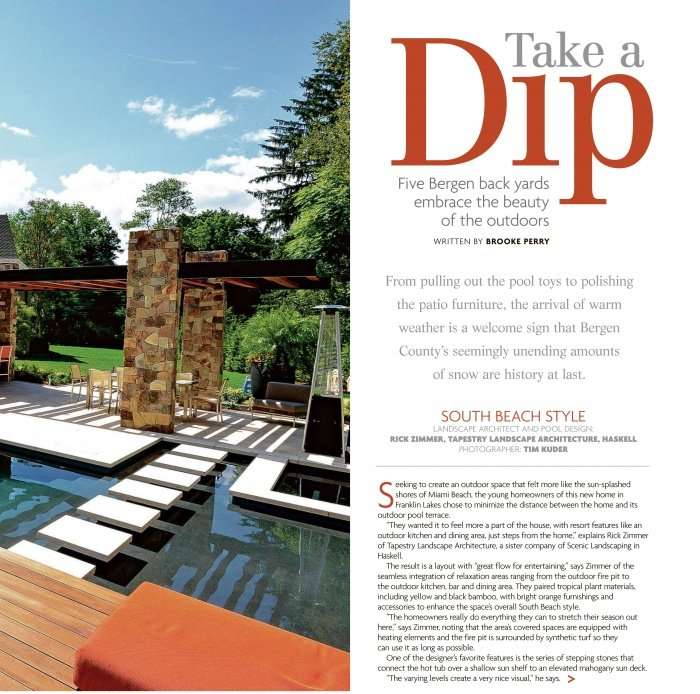 Take a Dip magazine feature