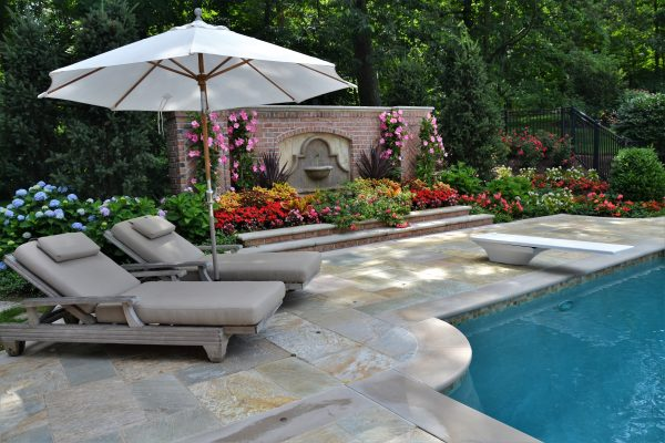 How to Plan for Landscape Around Pool Area