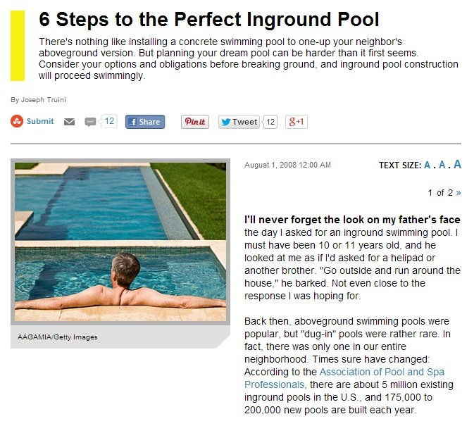 Successfully Building a Pool in NJ Requires Planning and Consideration