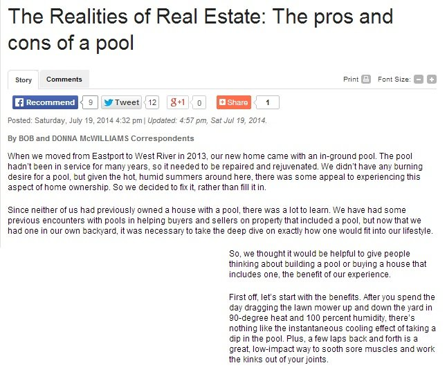 The realities of real estate online publication feature