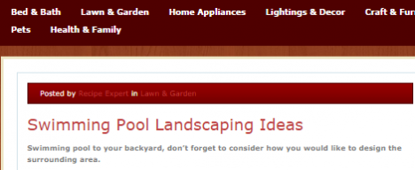 Home Garden online publication feature