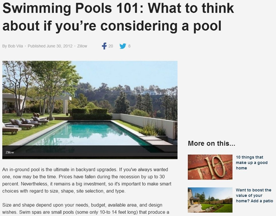 What to Think About Before Diving into the World of NJ Swimming Pools
