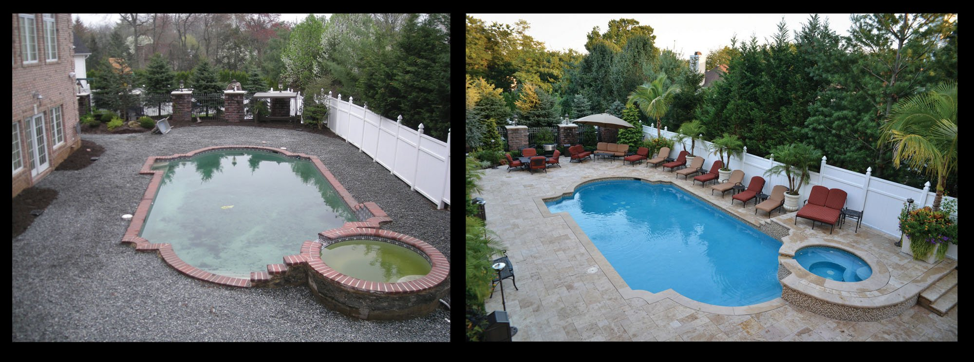 Before & After Pool Photos