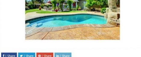 Tips and Trends for an In-Ground Pool Landscape Design online publication feature