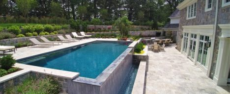 Residential luxury pool design