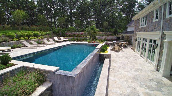 Residential luxury pool design